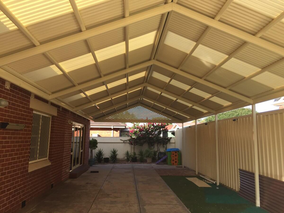 Carport And Stratco Outback Gable Oasis Home Improvements